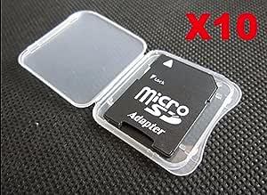 BeatlGem Tarjeta de Memoria 10x SD MMC/SDHC Pro Duo Caja de ...