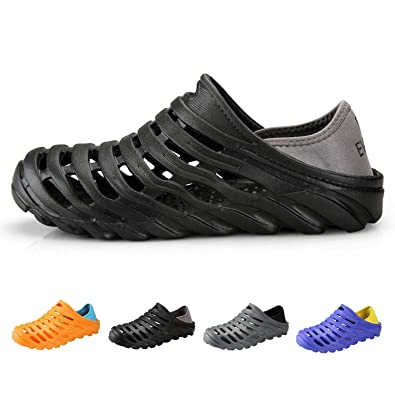 Men's Garden Clogs Slip on Sandals Quick Drying Water Shoes