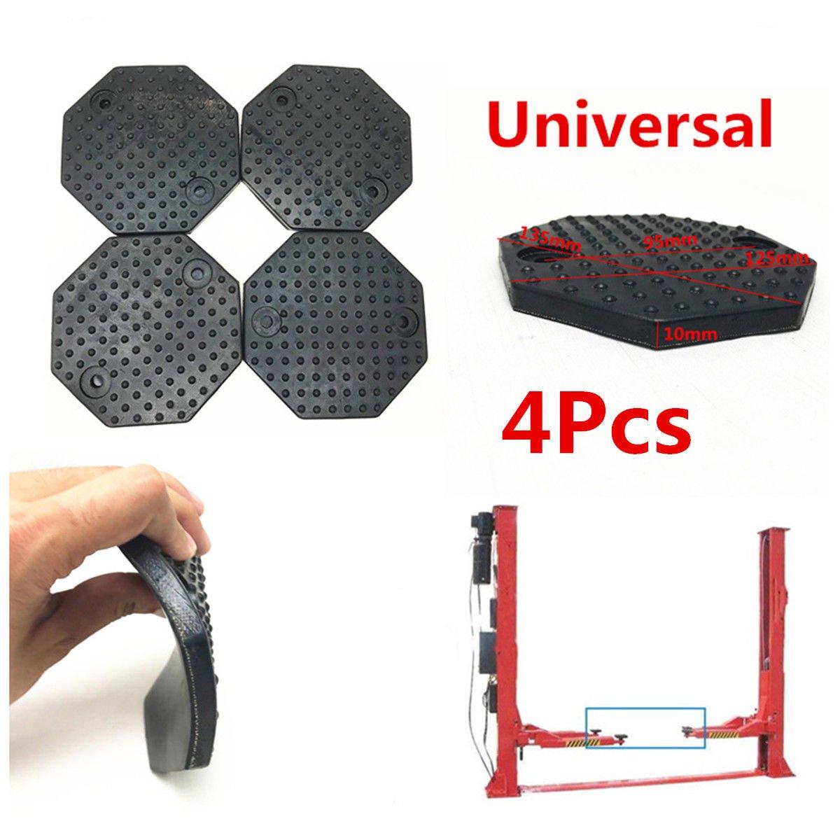 FidgetFidget Rubber Arm Pads 4Pcs Octagon 135x10mm Car Lift Accessories for Auto Truck Hoist