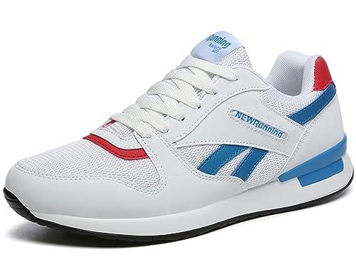 IIIIS-F Zapatillas de Deporte Respirable para Correr Deportes Zapatos Running Hombre Zapatillas para Correr 36-44: Amazon.es: Zapatos y complementos