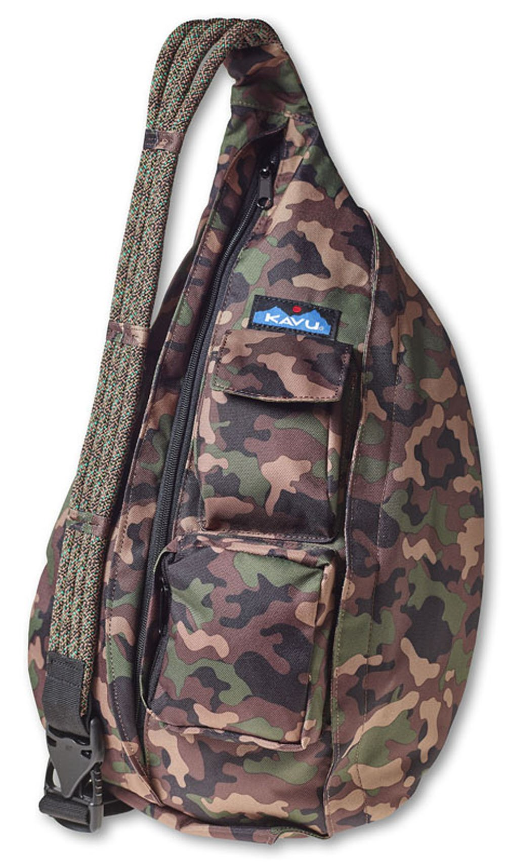 KAVU Rope Sling Bag, Camo, One Size