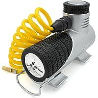 TireTek Compact-Pro Tyre Inflator 12v Electric Air Tool Car Tyre Pump - Compressor For Car Tyres FREE Bonus Carry Case