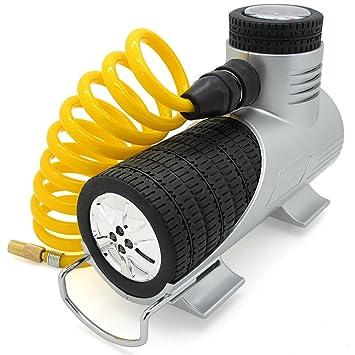 TireTek Compresor de Aire Portátil de 12 Voltios, 120 Vatios y 30 Litros/ Minuto: Amazon.es: Coche y moto