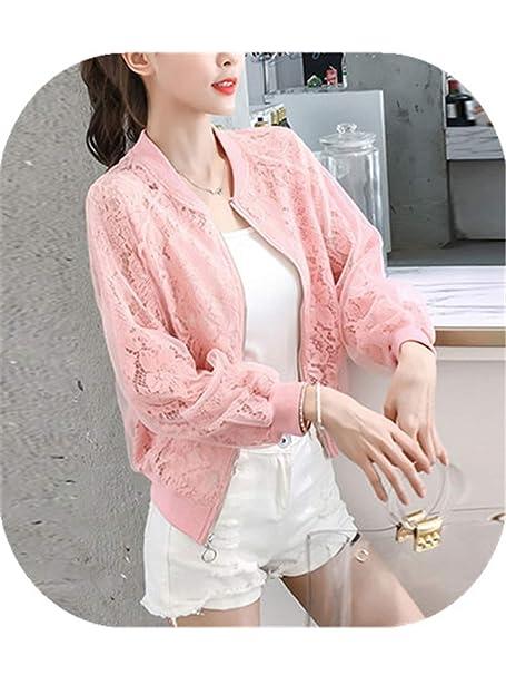 Amazon.com: Harajuku Style - Chaqueta de organza para mujer ...