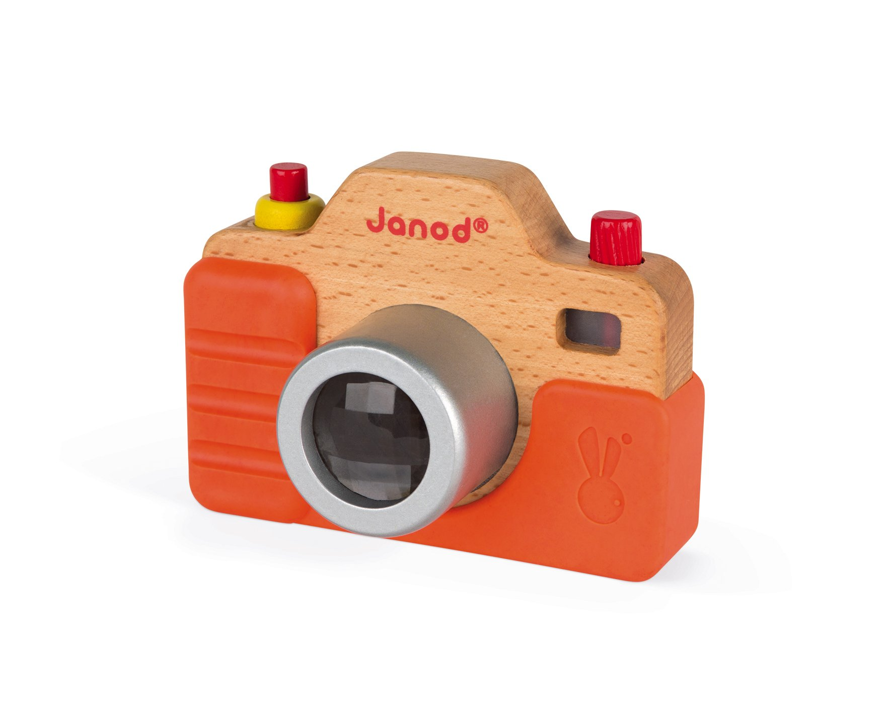 Janod Wooden Interactive Sound Camera Toy by Janod (Image #4)