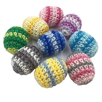 Coskiss 10 unidsDIY perlas de madera del bebé Rainbow ...