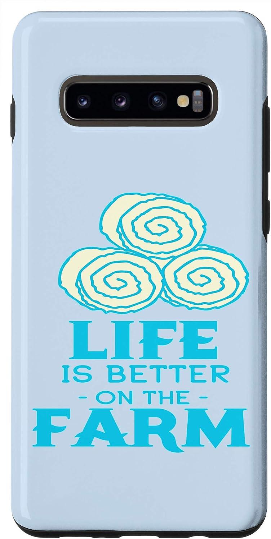Galaxy S10+ Cute Farm Graphic Design Decor with Better Case
