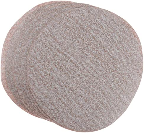10Pcs 150mm 6 inch Polishing Sanding Flocking Discs Sandpaper Pads Grits 80-1500