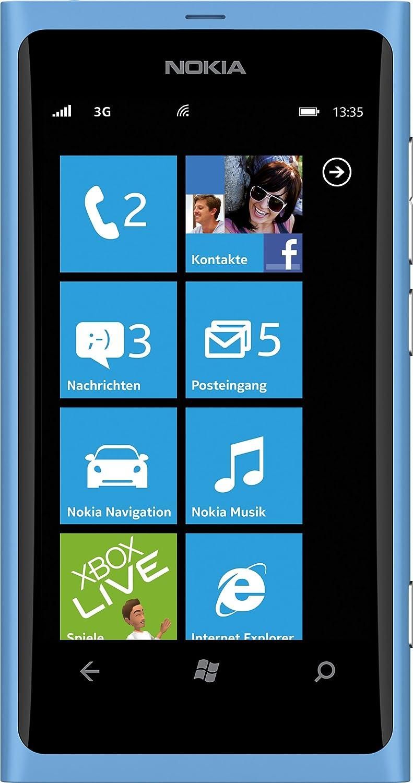 Nokia Lumia 800 Smartphone 37 Zoll Matt Cyan Elektronik Xl