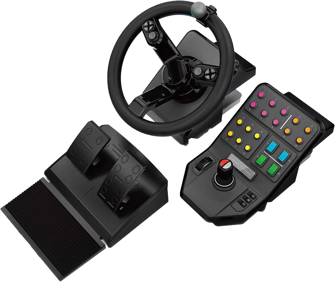 volante y equipamiento Logitech G Farm Simulator 19 o mayor