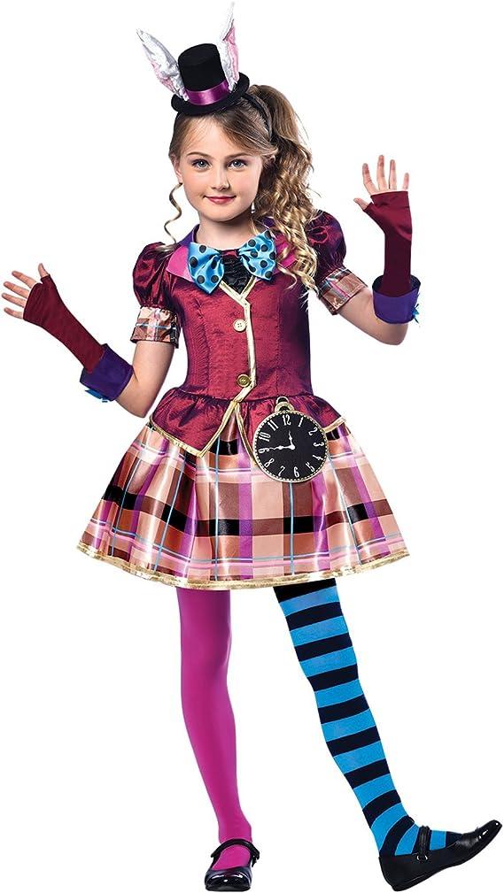 Niña Muchachas Sombrerero Loco Mad Hatter Disfraces Disfraz Alicia ...