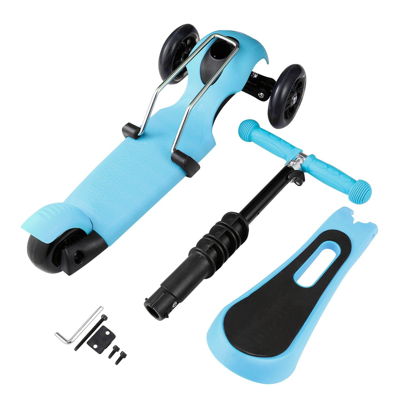 weskate 3 in 1 kleinkinder kinder roller scooter 3 r der. Black Bedroom Furniture Sets. Home Design Ideas