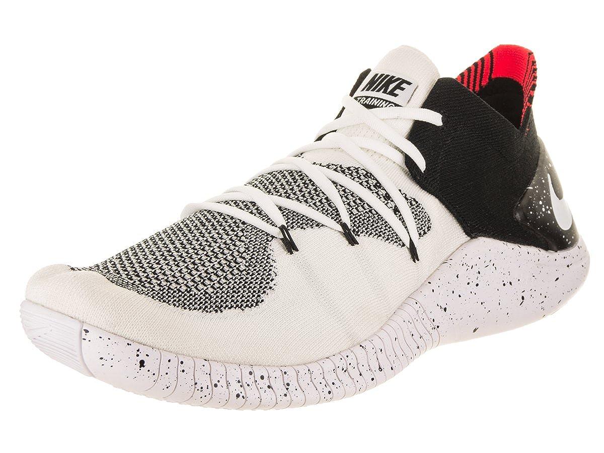 Nike WoHerren Free TR Flyknit 3 WhiteWhiteBlack Training Shoe 13 Damenn US