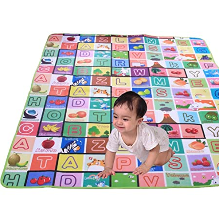 ISTORE Waterproof Soft And Sturdy Imported Double Side Baby Play Crawl Mat For Infant, Toddlers