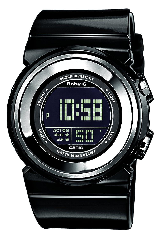 Casio Baby G Bgd 100 1er Ladies Digital Quartz Watch With Black Bg 6903 8 Abu Resin Strap Watches