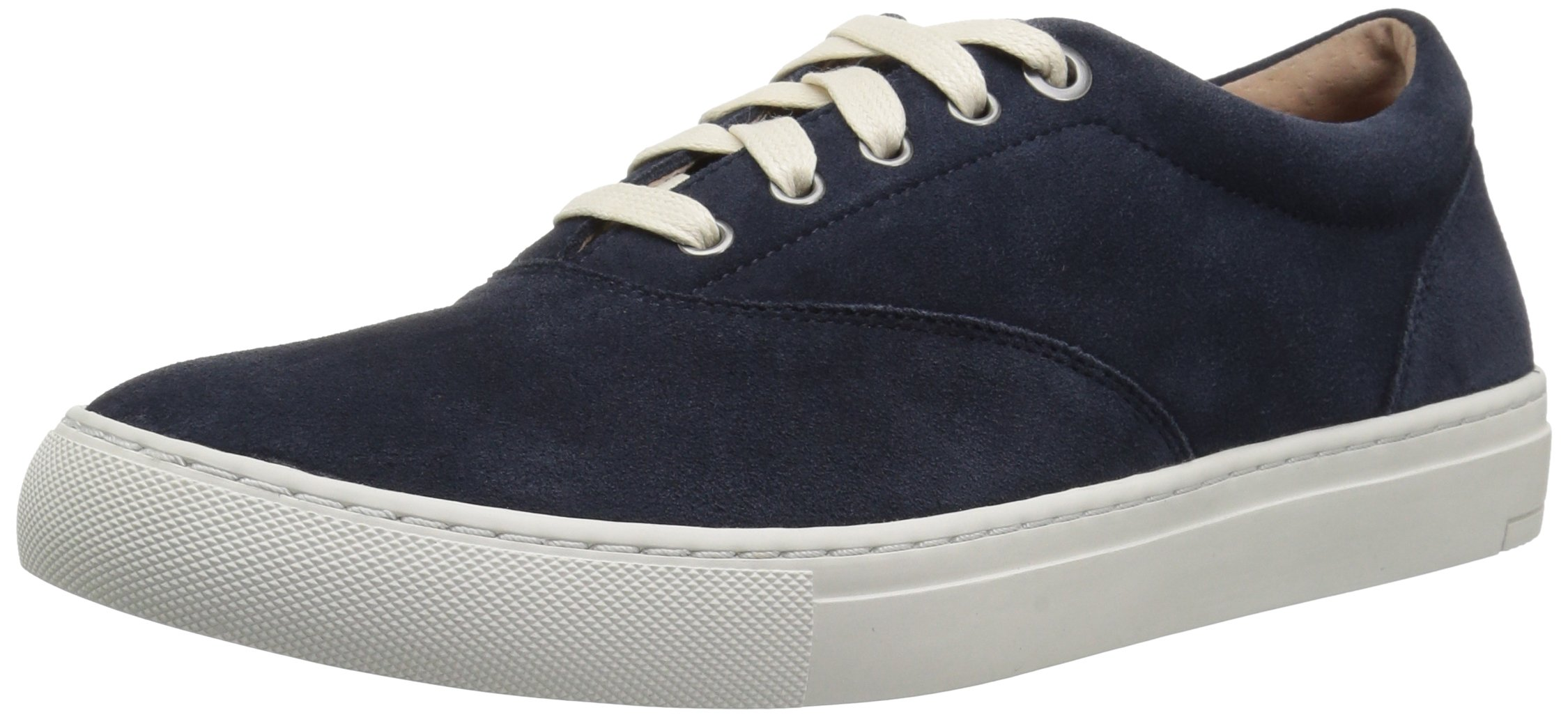 206 Collective Men's Olympic Casual Lace-up Sneaker, Navy Suede, 9.5 D US