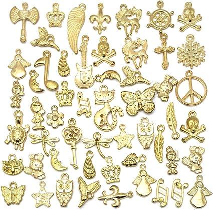 NEW Lot Mixed Cartoon DIY Metal Charms Jewelry Making pendants Gifts FREE SHIP