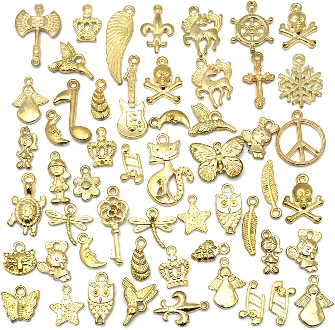 Gold Charms Lovely Jewelry Fork Necklace,DIY Supplies Jewelry Making Findings,1225-1234 200pcs Wholesale Fork Pendant