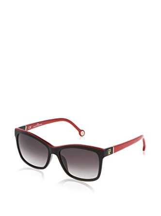 Carolina Herrera Gafas de Sol SHE598_09H7 (55 mm) Negro ...