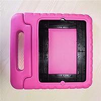 Hengyuanyi - Funda protectora para tablet infantil (EVA a prueba de golpes, con asa, apta para iPad 2/3/4), Rosa