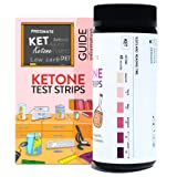 PREGMATE 100 Ketone Test Strips for Paleo Ketogenic