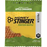Honey Stinger Protein Waffles, Sports Nutrition, Apple Cinnamon, 1.3 Ounce (Pack of 12)