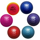 Stress Ball Variety 6 Pack | Teacher Peach I Think I Can Squeeze Ball