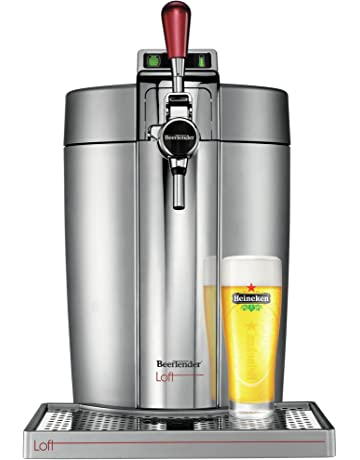 Krups VB700E00 5L Dispensador de cerveza de barril grifo de cerveza - Tirador de cerveza (