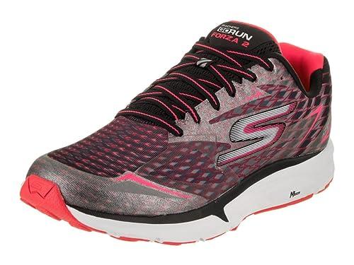 0242bf821e239b Skechers Women's Go Run Forza 2 Running Shoes Black/Hot Pink 6. 5 B(M) US:  Amazon.in: Shoes & Handbags