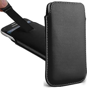 Essential Phone Pouch Bolsa UNIVERSAL Tirar Tab Cuero Funda PU ...
