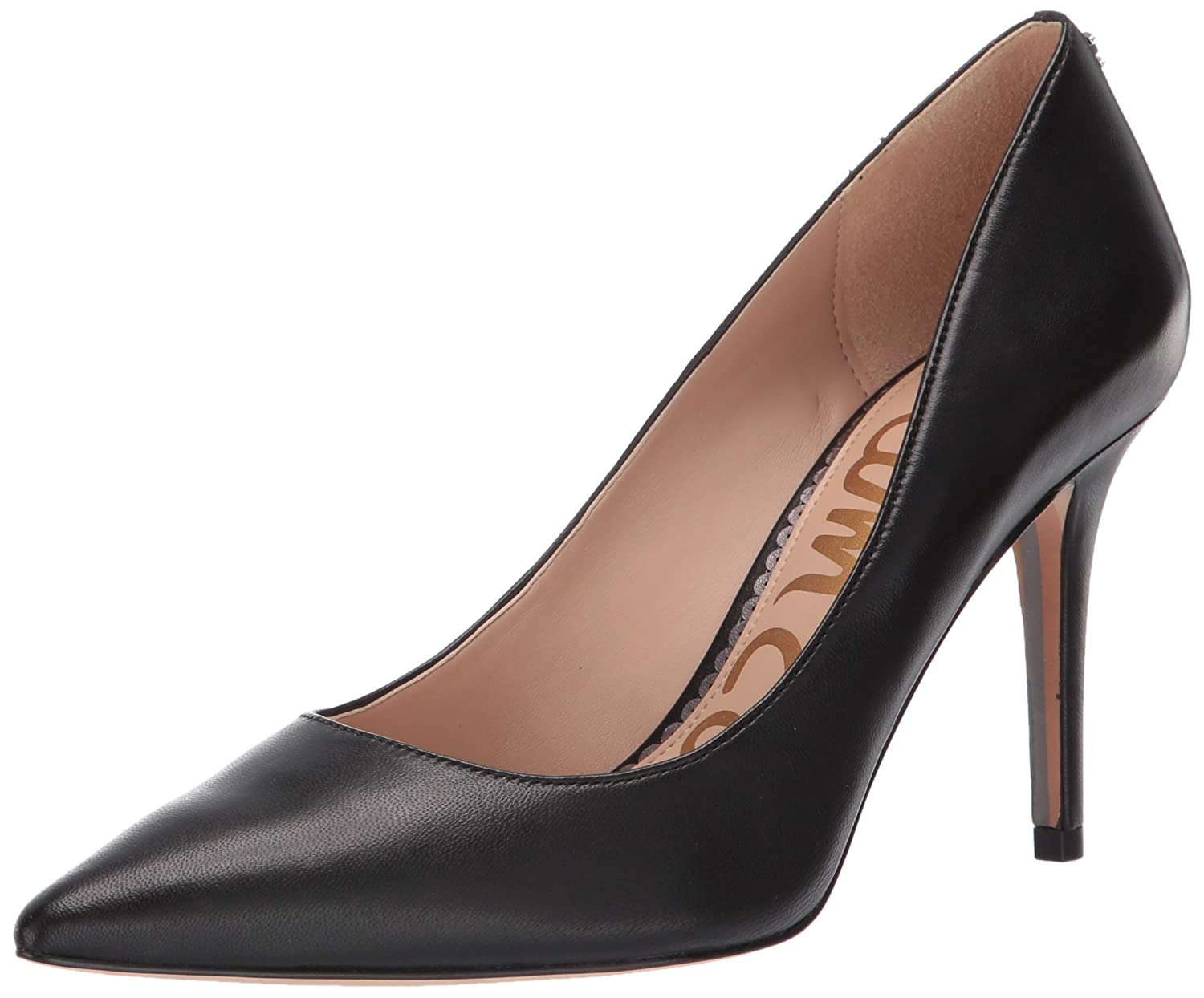 Black Leather Sam Edelman Women's Margie Pump