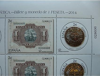 sellos 1 Peseta 2 x 2? – España 2014: Amazon.es: Hogar