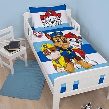 Paw Patrol Peek Kinder Bettdecke Für Babybett Junior Kleinkinder