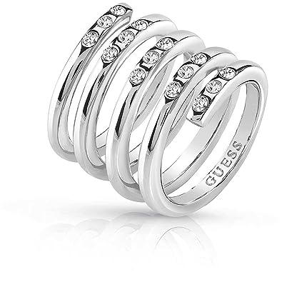 8590dd1c71dd Guess Women s Jewellery Ring Me   You Size 14 Trendy Cod. ubr84059 - 54   Amazon.co.uk  Jewellery