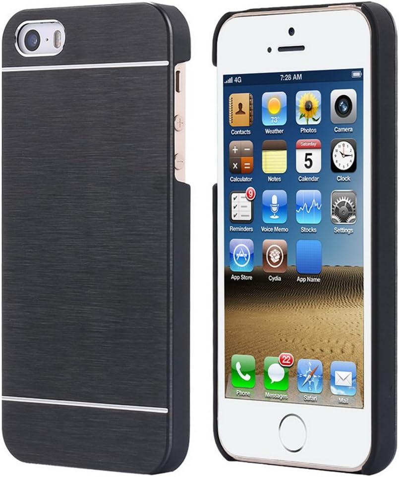"Luxury Aluminum Metal Hard Plastic Frame Armor Case For iPhone 5 5S SE Cooling Shock Proof Slim 4.0"""