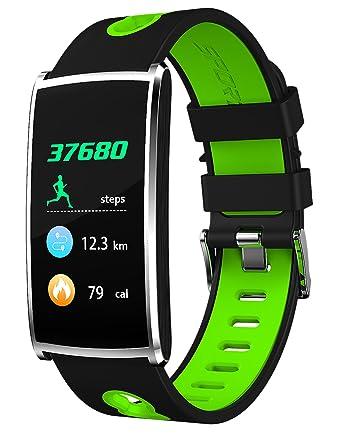 4042265f68 スマートブレスレット スマート腕時計 リストバンド 健康検測 トレーニングデータ 心拍計/血圧計