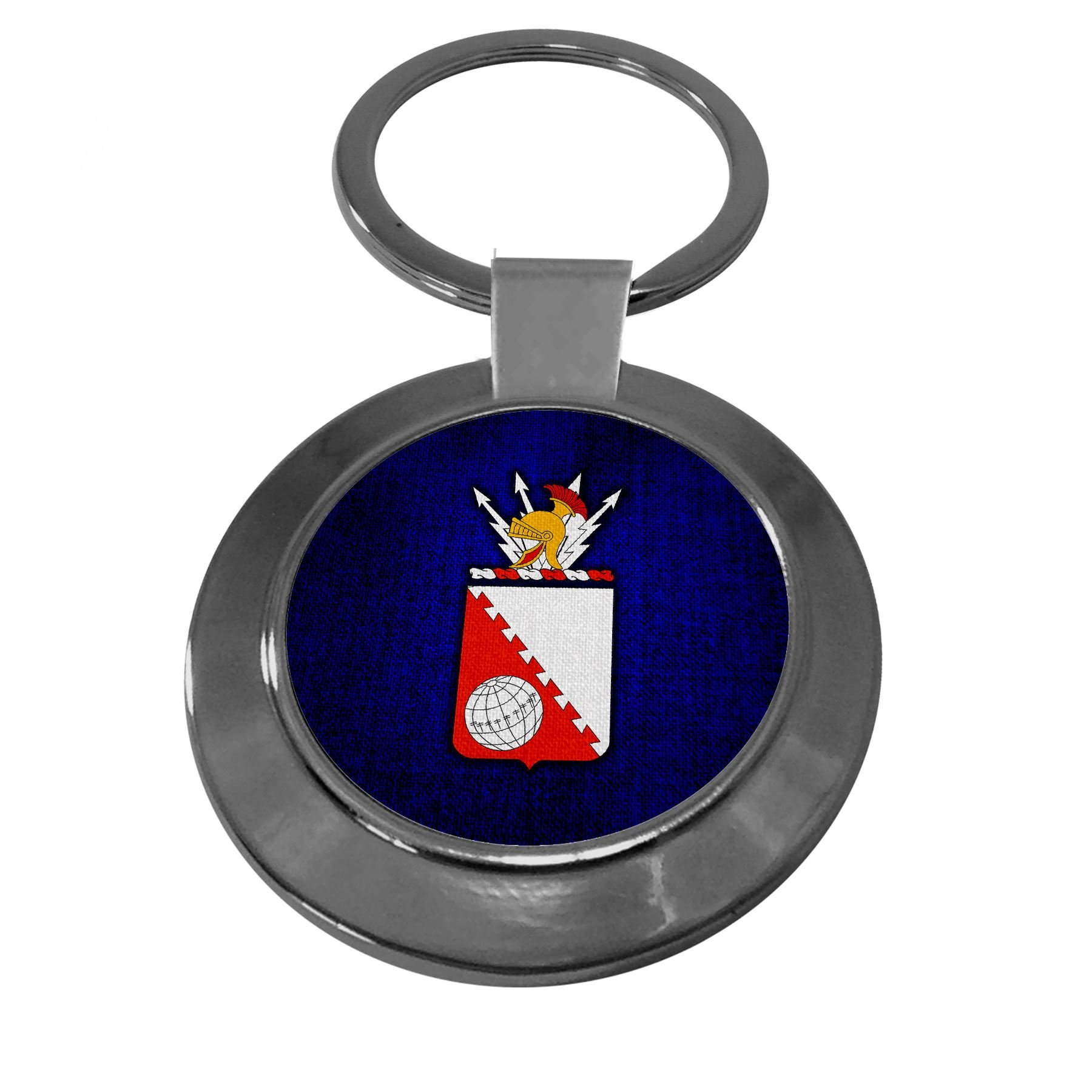 Premium Key Ring with U.S. Army 30th Signal Battalion, coat of arms by ExpressItBest (Image #1)