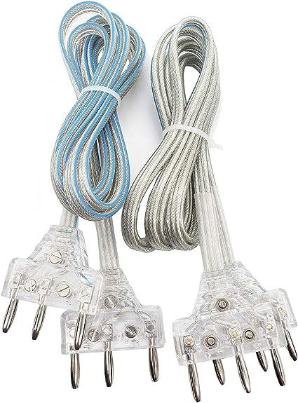 Radge Fencing Mask Cord for Saber Foil Set of 4