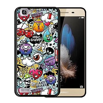 Funda Huawei P8 Lite Smart, WoowCase [ Huawei P8 Lite Smart ...