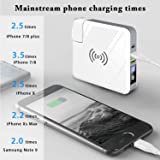 Innens Qi Wireless Charger Power Bank, 3-in-1