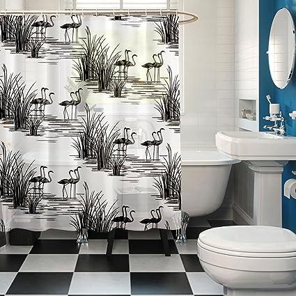 Cortina Polyester Shower Curtain - 31x31, Multicolour