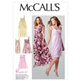 McCall Patterns M6508 Misses' Lined Dresses, Size