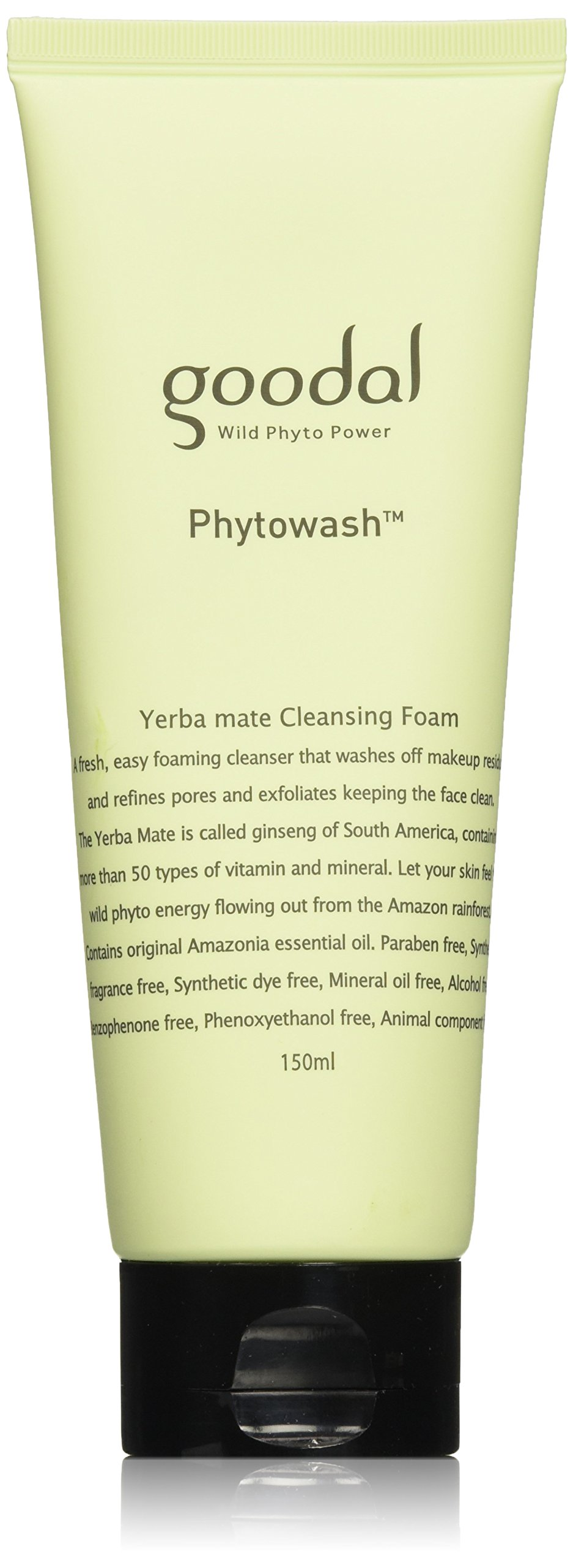 Goodal Phytowash Yerba Mate Cleansing Foam, 5.07 Fluid Ounce