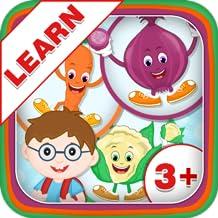 Learn Vegetable Names - Kids Fun