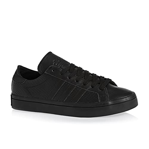 adidas Womens Originals Womens Court Vantage Trainers in Black - UK 3.5 89481bd44