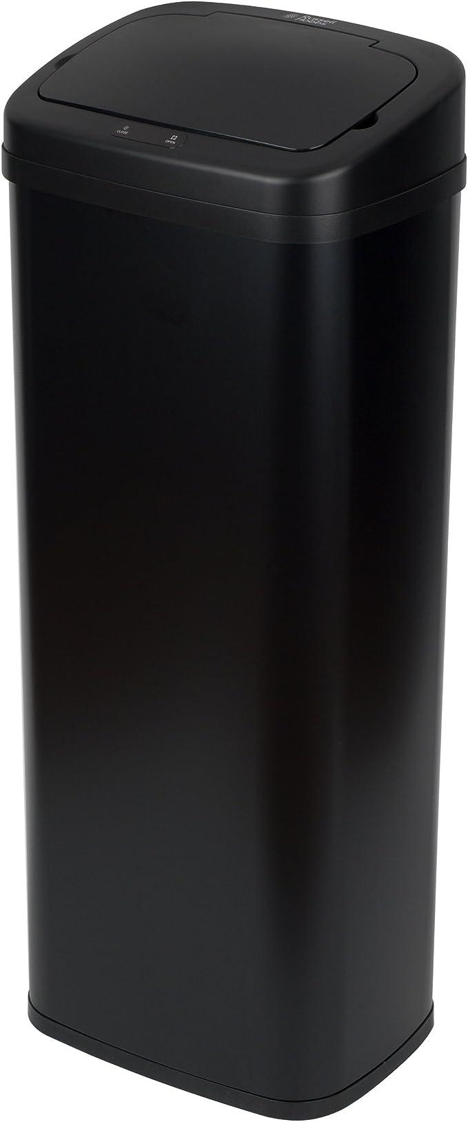 Nero Russell Hobbs BW07125MOB Quadrato sensore Bin 71/x 24 50/Litri