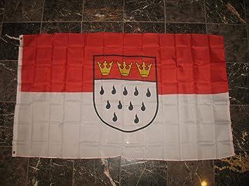 3 x 5 pies bandera de la ciudad alemana de Colonia Rough de punto 3