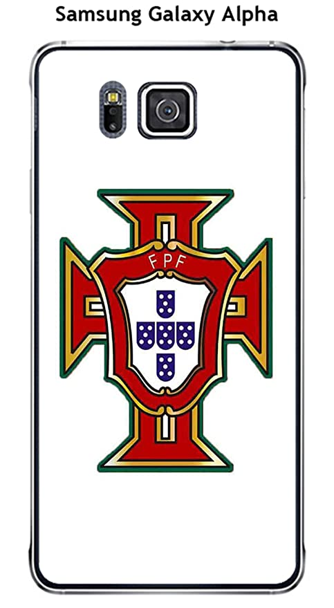 Carcasa Samsung Galaxy Alpha Design Foot Portugal fondo ...