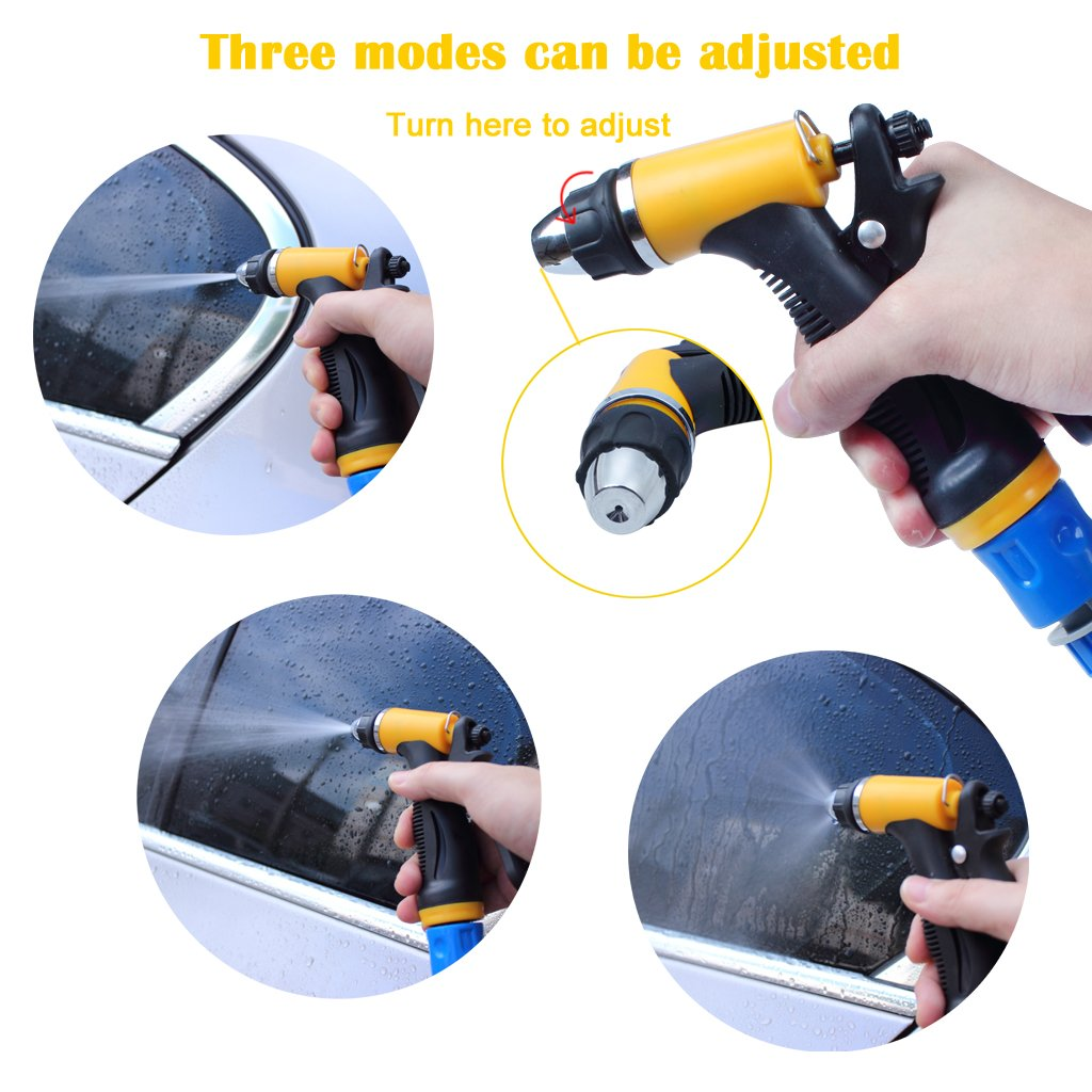 Lavadora eléctrica de coches, EFORCAR bomba de lavado de coches de alta presión, 12V 80W Lavadora eléctrica de la bomba de la arandela del coche Dispositivo ...