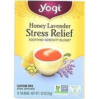 YOGI TEA, Honey Lavender Stress Relief, 29g, 16 Tea Bags
